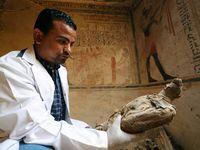 Egypte : Découverte d'une ancienne tombe datant de 4 500 ans