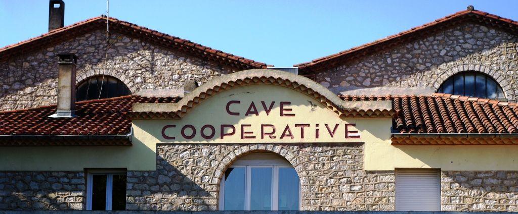 Cave coopérative d'Ouveillan.