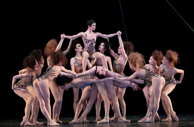 Ballet contemporain au Bolshoï