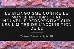 Colloque BiMo 2017 - Bilinguisme contre...