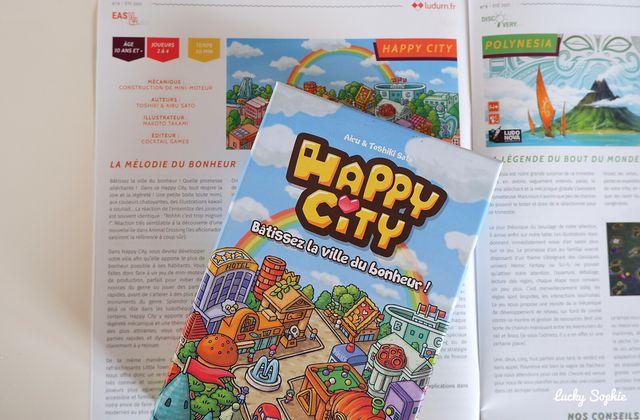 Happy City, super jeu de société familial dès 10 ans