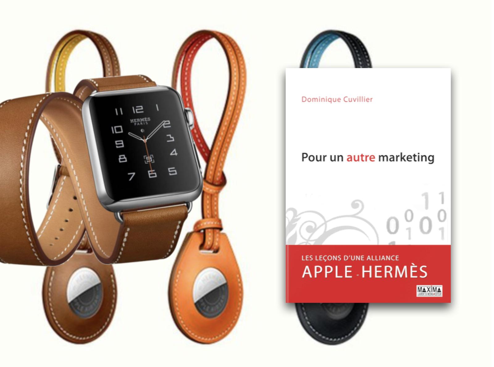 La luxury touch d'Apple et la digitale attraction d'Hermès