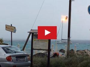 VIDEO - quelles conséquences possibles suite au foudroiement de son voilier ?