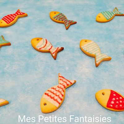 Petits biscuits Poissons d'Avril !