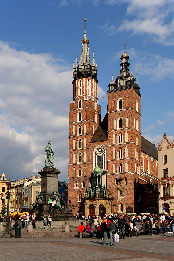 Eglise Sainte Marie à Cracovie - Photo de Lestat (Jan Mehlich)