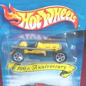 PACK 2 HOT WHEELS 100ème ANNIVERSAIRE HOOLIGAN + OLD #3 - car-collector.net