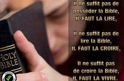 LECTURE DE LA BIBLE: Français-hébreux