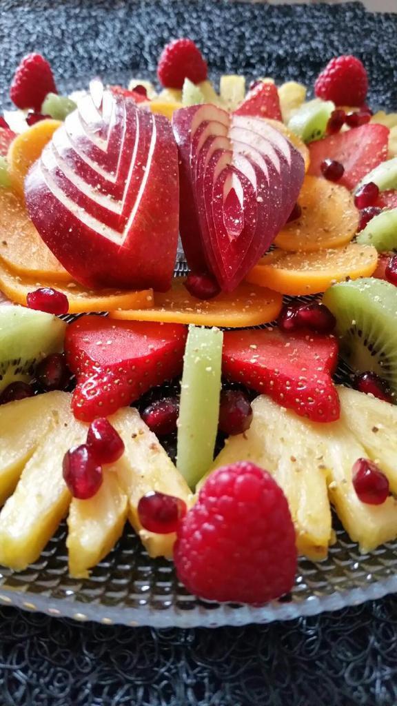 Plateau multi-fruits aux zestes de Combava