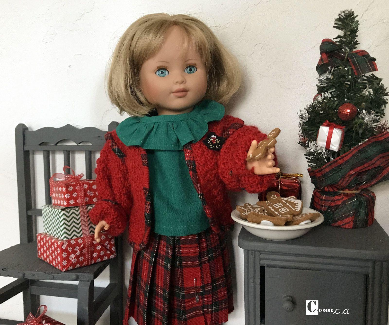 Courses de Noël et petit goûter