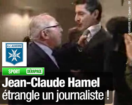 DÉRAPAGE : Jean-Claude Hamel étrangle un journaliste !
