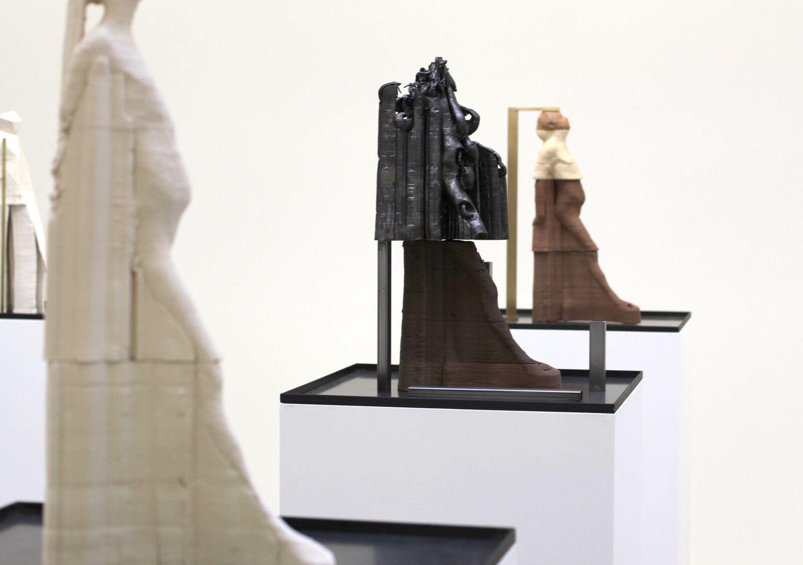"""""""Impressions, après Degas (#029) et (#32)"""", 2020 de Antoine RENARD - Courtesy de l'artiste et de la Galerie Nathalie Obadia © Photo Éric Simon"""
