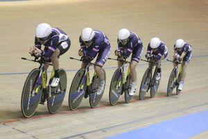 Le Berry Républicain>>>Cyclisme sur piste>>>Présentation de l'équipe de France olympique d'endurance dont cinq des six membres ont vécu à Bourges....