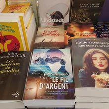 """Le roman de Rebecca: """"Le fil d'argent"""" en vente dans les librairies et espaces culturels !"""