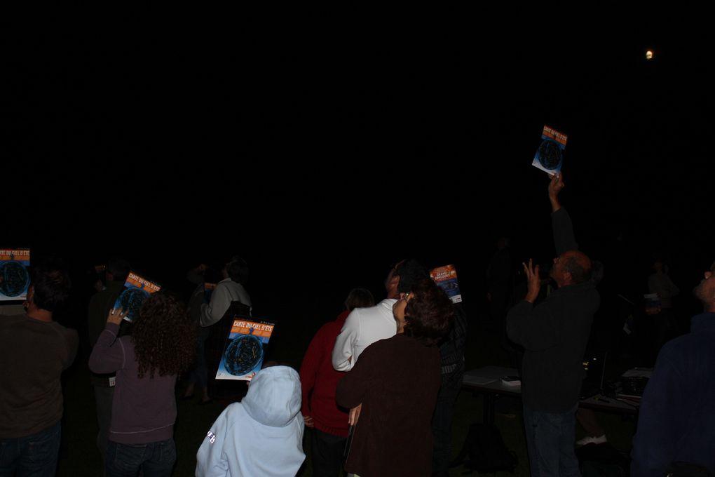 Pour la 3e soirée des Nuits des Etoiles 2009, la commune de Monchy-au-Bois a accueilli le club de Saint-Laurent-Blangy