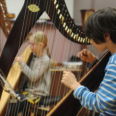 Je fais de la harpe par Tino