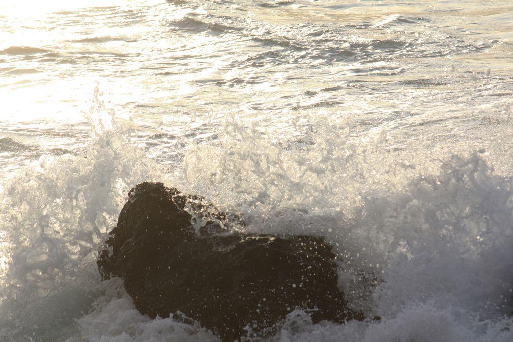 Les vagues de l'Océan Indien, dans le sud de l'Île de la Réunion Photos Emmanuel et Mariela CRIVAT 2012 (M. et Em. presse)