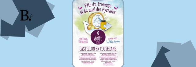 Du 2 au 11 août 2021 : La fête du fromage et du miel des Pyrénées