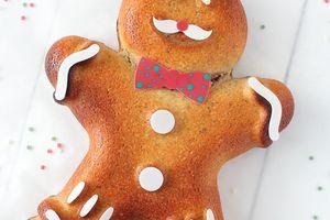 Gâteau à la Noisette Petit Biscuit de Noël