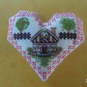 Cœur Valentin Maison de Campagne : Face A - Chez Mamigoz