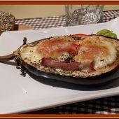 Aubergines farcies au Bacon et à la Tomate - Oh, la gourmande..