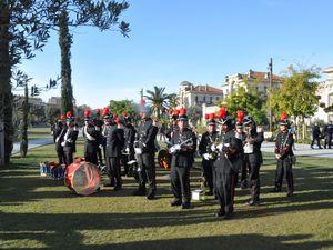Inauguration de l'Allée des Italiens à Nice le 29 janvier 2015.