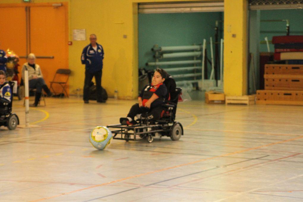 L'équipe réserve  Handisport Lyonnais était ce week-enf trop friable défensivement