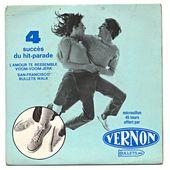 disque publicitaire vernon -san francisco - l'oreille cassée