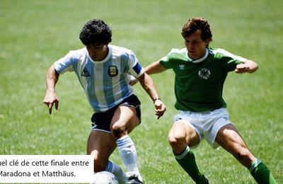 Coupe du Monde 1986 au Mexique, Finale: Argentine - Allemagne de l'ouest