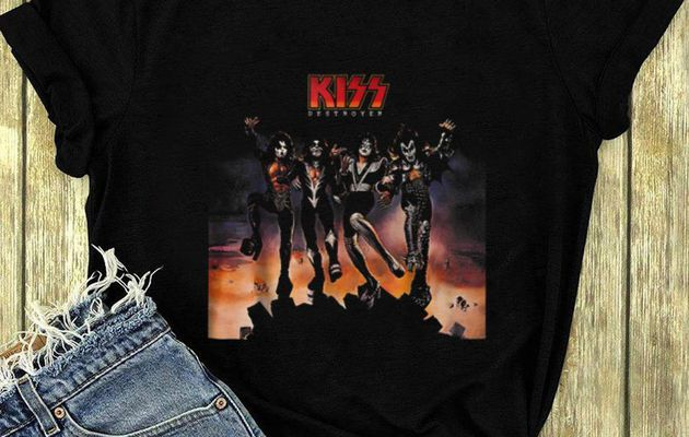 p Kiss Band Destroyer shirt