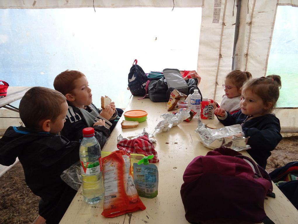 Sortie scolaire des 2 classes de Maternelle à St M'Hervé