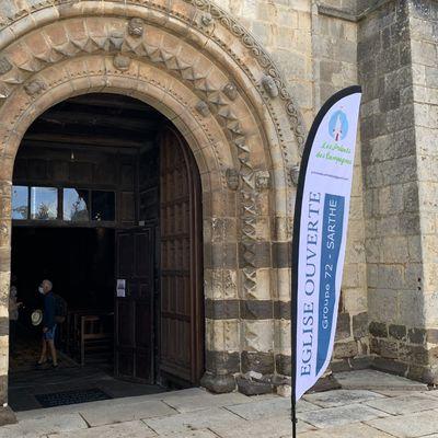 31 juillet : Visite de l'église Notre-Dame de Fresnay