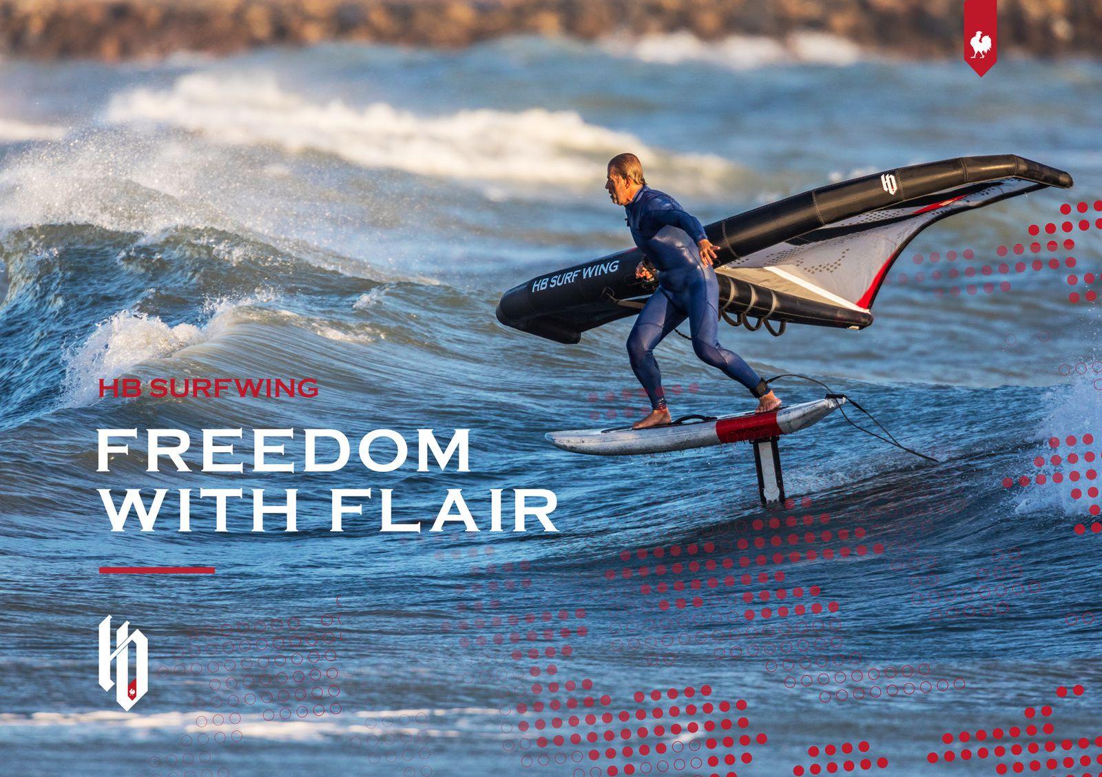 Premier contact avec cette 6m HB Wing – Flair, un grand Merci à Fred de www.ridershop.ch . A suivre la vidéo.