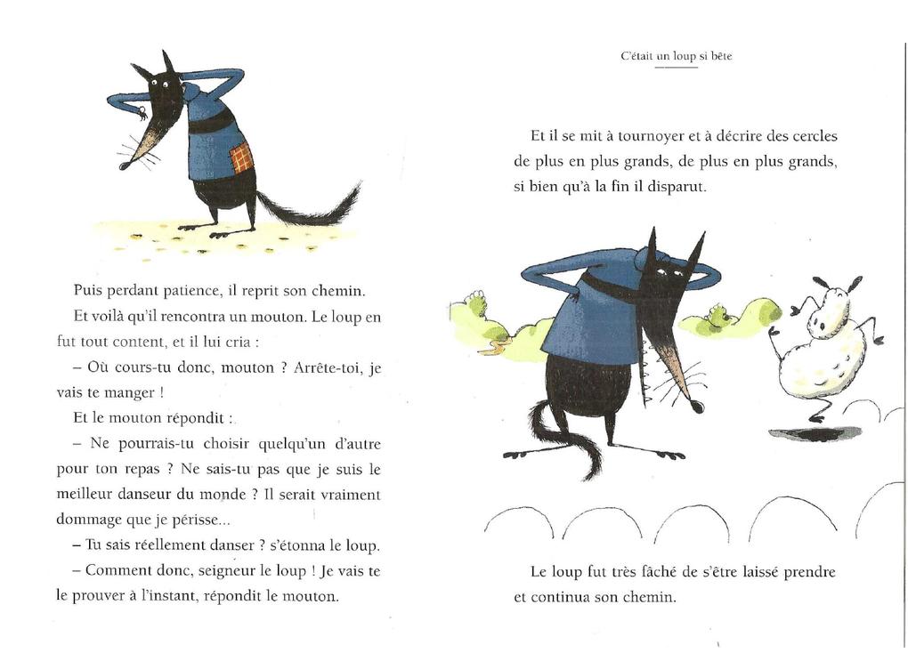 Albums Accessibles: Le loup si bête...