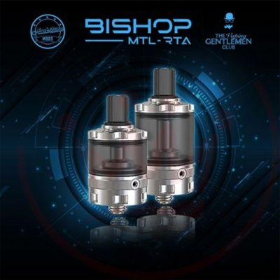 Test - Atomiseur - Bishop MTL RTA de chez Ambition Mods