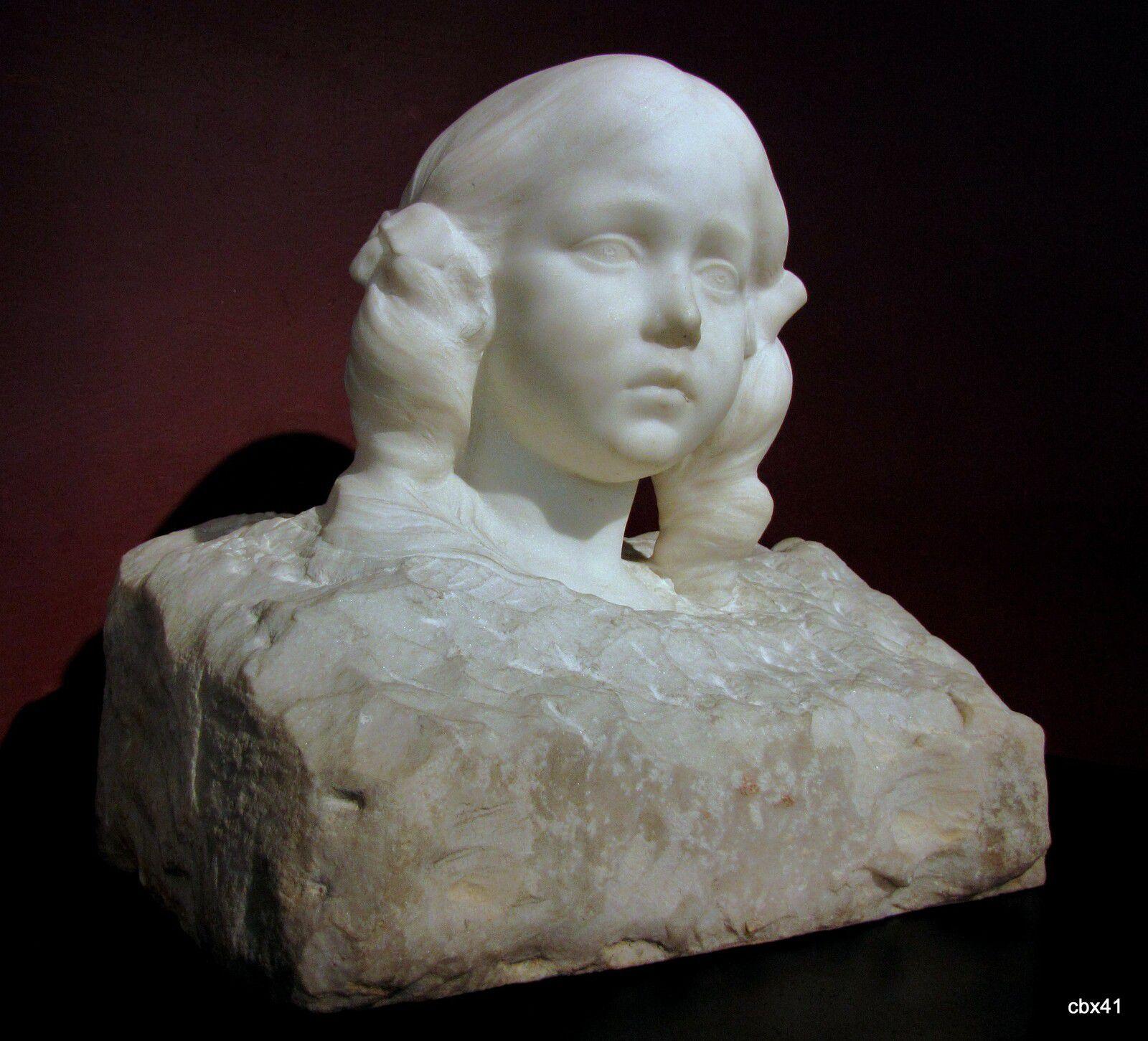 Albert Roze, Tête d'enfant (Musée de Picardie)