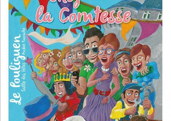 Le Pouliguen - Du rififi chez la comtesse avec  Scenez Bulles - 22 au 30 novembre 2019