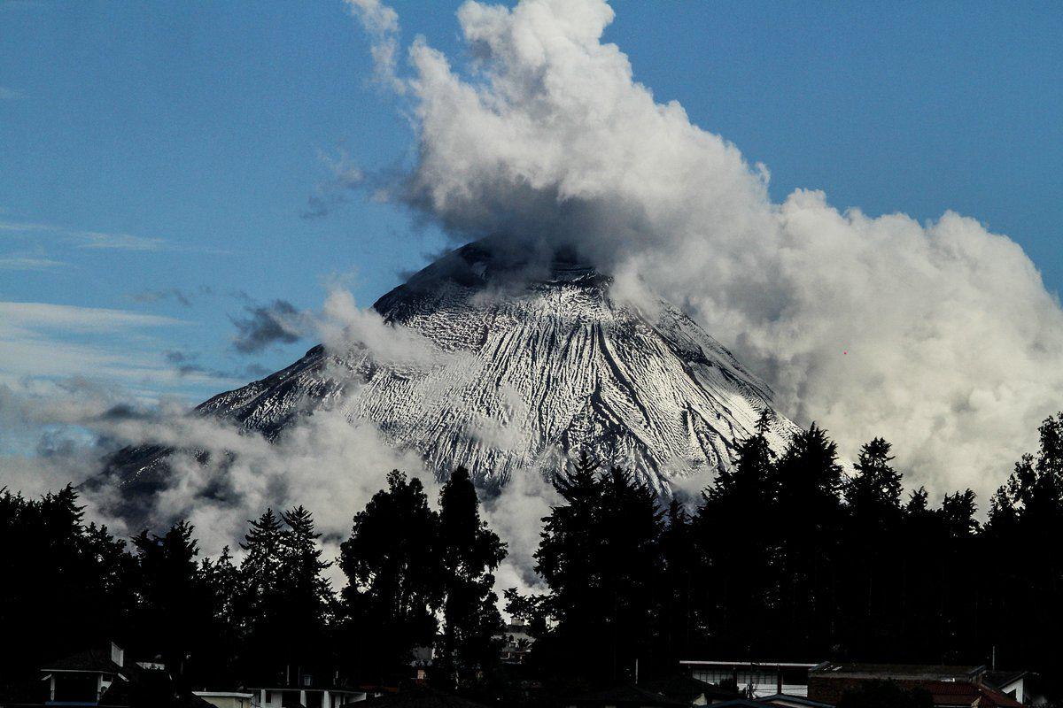 Tungurahua - photo archives 08.2018 / José Luis Espinosa Naranjo