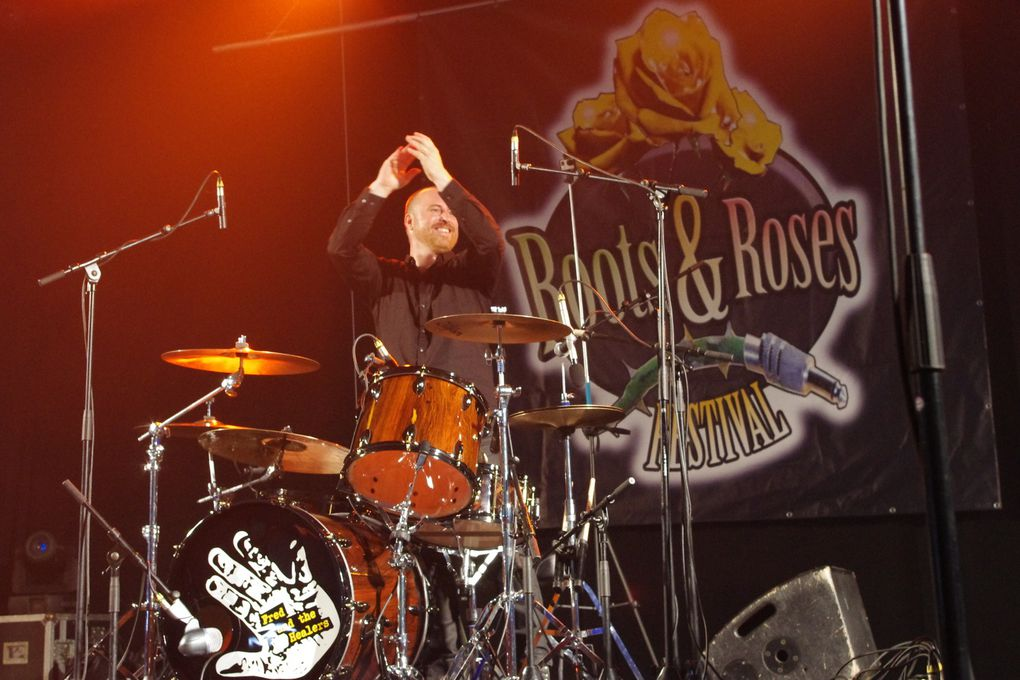 Fred & The Healers - 1 mai 2014 - Roots & Roses festival, Lessines (B)