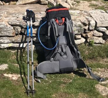 Mon équipement pour le tour des Monts du Cantal 2020