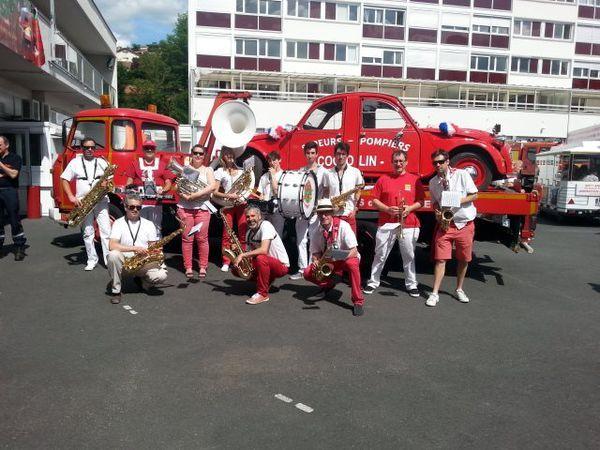 La Band'Avenir anime le cinquantenaire de la caserne de Firminy