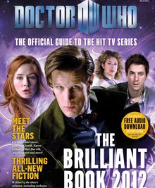 The brilliant book of Doctor Who 2012 - BBC