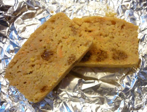 Cake aux pommes, carottes et mulberries