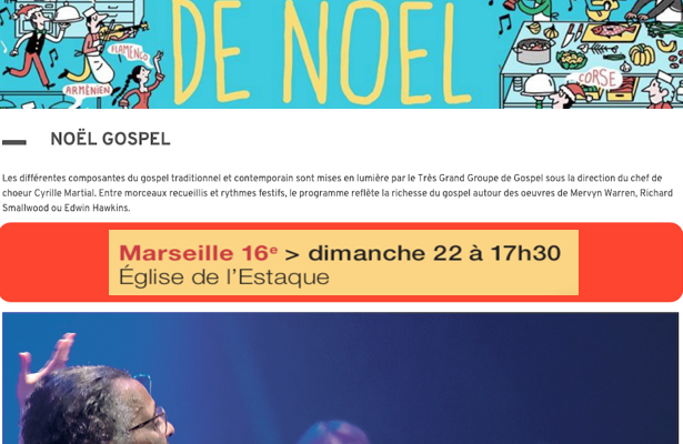 CD13 - Noël Gospel en l'Eglise de l'Estaque
