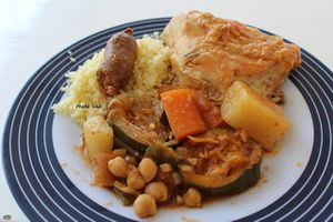 Couscous express Poulet-Merguez Cookeo