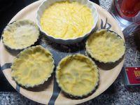 La pâte brisée -La pâte sablée-La pâte levée- versions sucrées ou salées