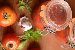 Sauce tomates #conserves