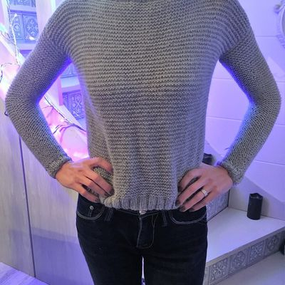 Je tricote mon premier pull facile !