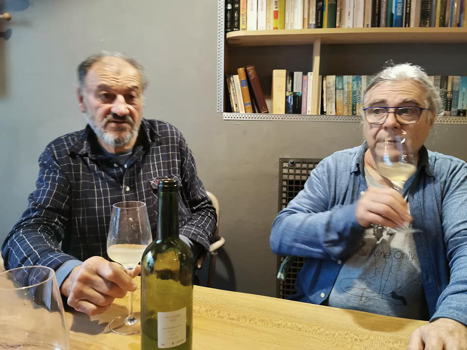 """Vinoscopie 14 : Alain Casteix, un des """"papes"""" du vin nature des vins du Cabanon de Trouillas (featuring Bonus Tête de veau).par Jean Lhéritier"""