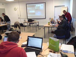 Les étudiants et référents du réseau IEQT