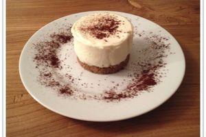 Croustillant au chocolat blanc